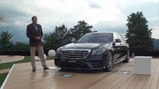 Mercedes-Benz S Class AMG S63 обзор и тест драйв Автопанорама