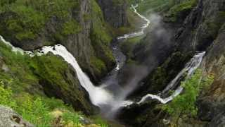 Vøringfossen, a spectacular waterfall in Norway