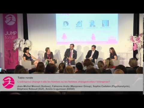 Table ronde - L'entreprise change-t-elle les femmes ou les femmes changent-elles l'entreprise?