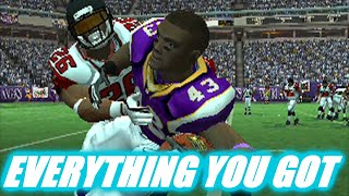 THE PLAYOFFS START NOW - MADDEN 2007 FALCONS FRANCHIS VS VIKINGS S6W13