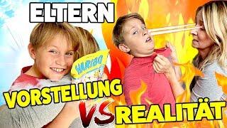 Eltern - Vorstellung 😇 vs. Realität 😈  TipTapTube Family 👨👩👦👦