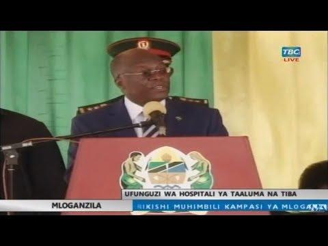 LIVE: Hotuba ya JPM uzinduzi hospitali ya taaluma na tiba Mloganzila