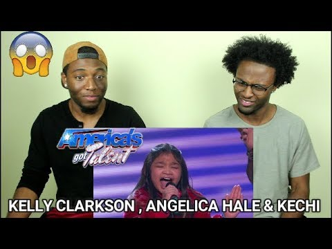 """Angelica Hale and Kechi Sing """"Stronger"""" With Kelly Clarkson - America's Got Talent 2017 (REACTION)"""