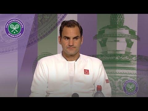 Roger Federer Wimbledon 2019 Third Round Press Conference