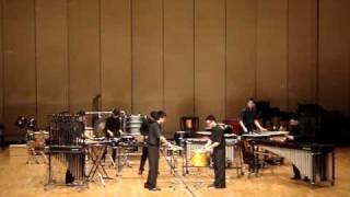 overture for percussion ensemble taiwan nctu percussion
