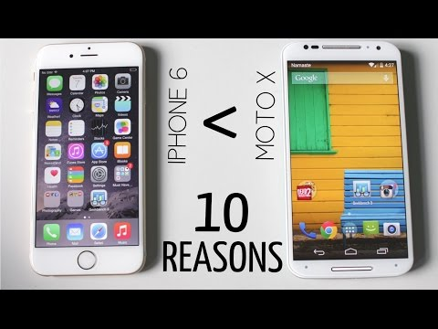 Top 10 Reasons Why Moto X (2nd Gen) is Better Than iPhone 6