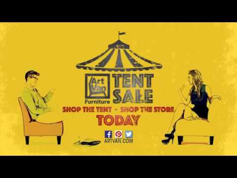 Art Van Furniture Tent Sale Youtube