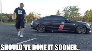 "The haters were RIGHT! Making the AMG ""STOCK"" again (And it sounds BETTER!)"