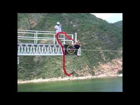 Extreme Game - Salto Mortal - Bunjee Jumping - Dique Cabra Corral - Salta - Argentina