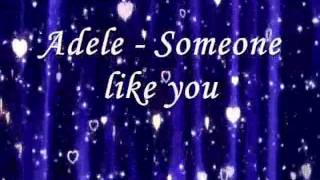 Adele - Someone like you (karaoke version with back vocals)