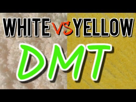 """White vs Yellow DMT 