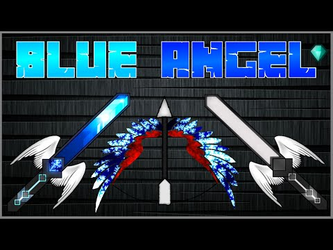 ★ Minecraft PvP Texture Pack BlueAngel ★