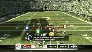 CGRgameplay - MADDEN NFL 11 (XBOX 360) Packers Vs. Bears Gameplay Part 4