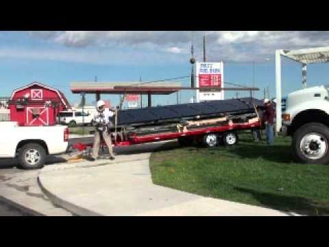 Solar Panel Installation | Solar Powered Billboard