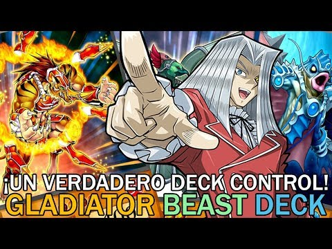 ¡UN VERDADERO DECK CONTROL! Gladiator Beast Deck | Yu-Gi-Oh! Duel Links