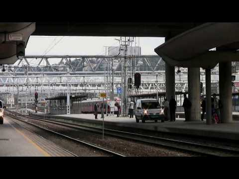 Train Travel Norway: Oslo Central Station, departure for Bergen [HD]