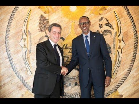 Perezida Kagame yakiriye Nicolas Sarkozy wahoze ayobora u Bufaransa