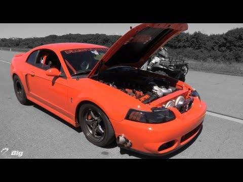 """200 mph TT Terminator Mustang - """"Stopped Turning it Up to Prevent 130mph Burnouts"""""""
