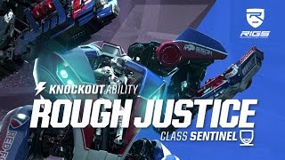 RIGS Mechanized Combat League | Rough Justice Knockout Ability | PlayStation VR