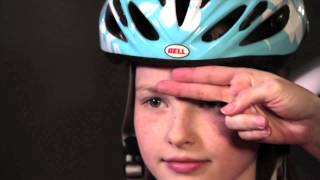 How-to-Video: the Bike Helmet Fit Test