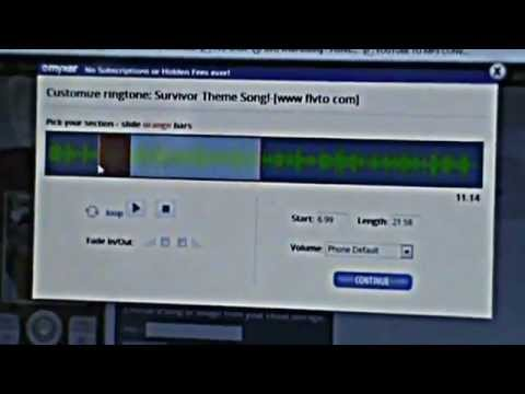 Make FREE Custom Ringtones from YouTube Using Myxer and Free Online Tools