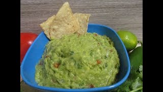 Гуакамоле. Авокадо по-мексикански.