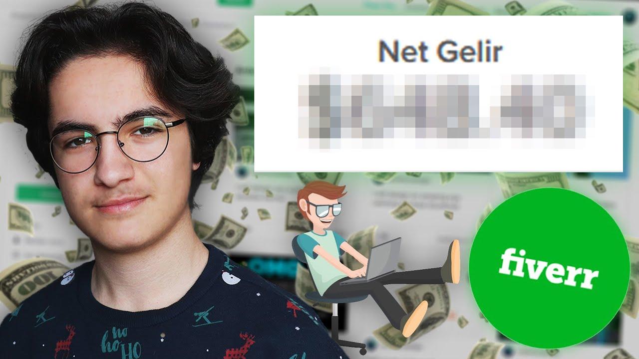 1 Hafta Fiverr'da Çalıştım! - İnternetten Para Kazanma