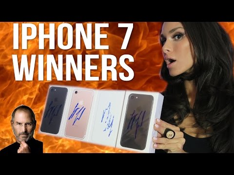 Thumbnail: THE DATE + IPHONE 7 GIVEAWAY WINNERS!