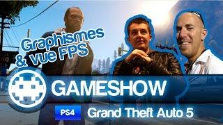 Test GTA 5 PS4 - Vue FPS et Nouveaux Graphismes
