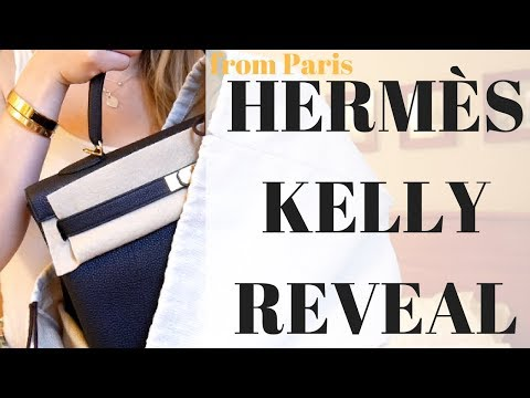 HERMES KELLY FROM PARIS REVEAL SUMMER 2018 | Cherry Tung