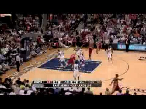 LeBron James 47 Points Cleveland Cavaliers vs Atlanta Hawks Game 3 2009 NBA Playoffs 5/9/2009