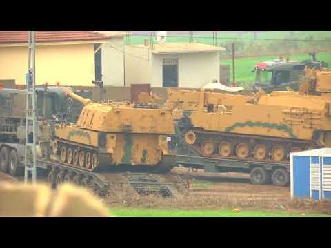 Turkey shells U.S.-backed Kurdish militia in Syria's Afrin