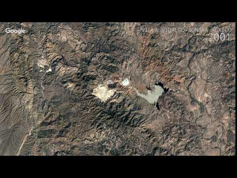 Google Timelapse: Villa Hidalgo Sonora, Mexico