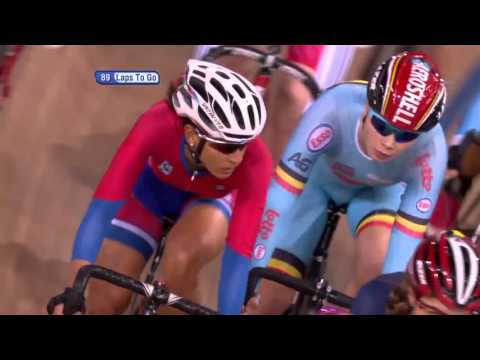 Women's Points Race - 2016 UCI Track Cycling World Championships