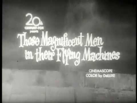 Those Magnificent Men in Their Flying Machines (1965) B&W Trailer