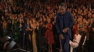 Chris Brown  Grammy Loss 2013  Adele Yells At Him For Not Standing Up For Frank Ocean