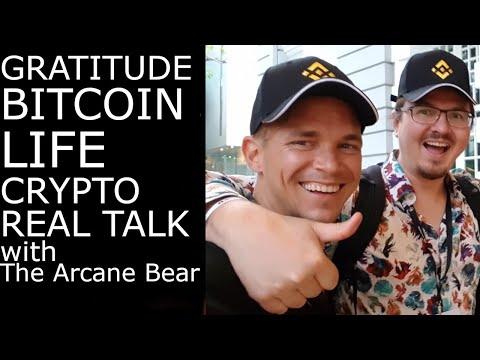 Crypto Real Talk - Life, Bitcoin, & Gratitude