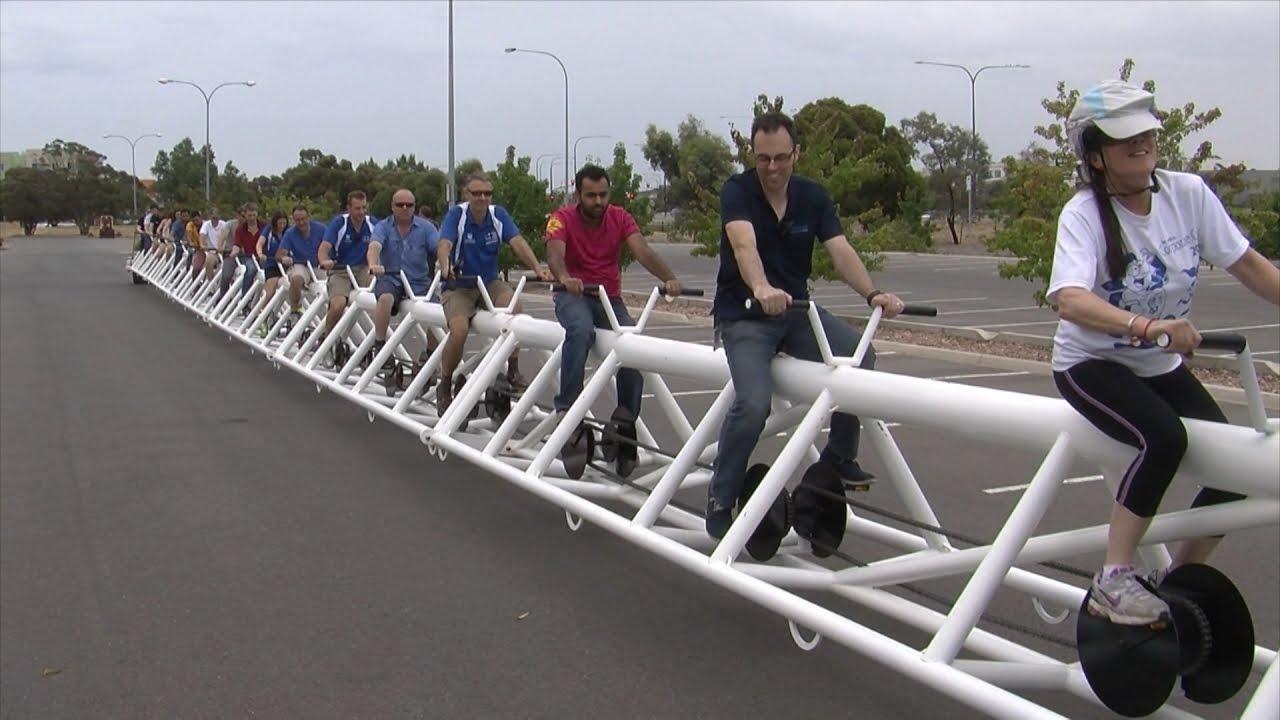 Ծանոթացեք` աշխարհի ամենաերկար հեծանիվը. Տեսանյութ