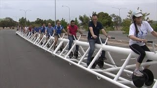 Meet the World's Longest Bicycle
