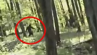 Bigfoot Caught On Tape While Driving Go Kart 2015