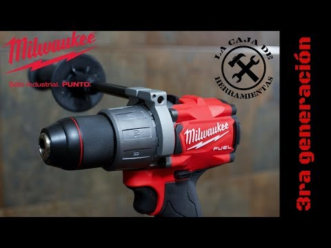 Taladro Milwaukee Fuel 3ra Gen. 2804