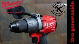 Taladro Milwaukee Fuel 3ra Gen. 2804