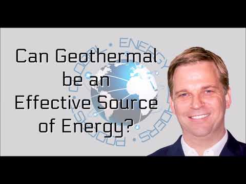 Episode 74 - Can Geothermal be an effective source of energy? - Alexander Richter