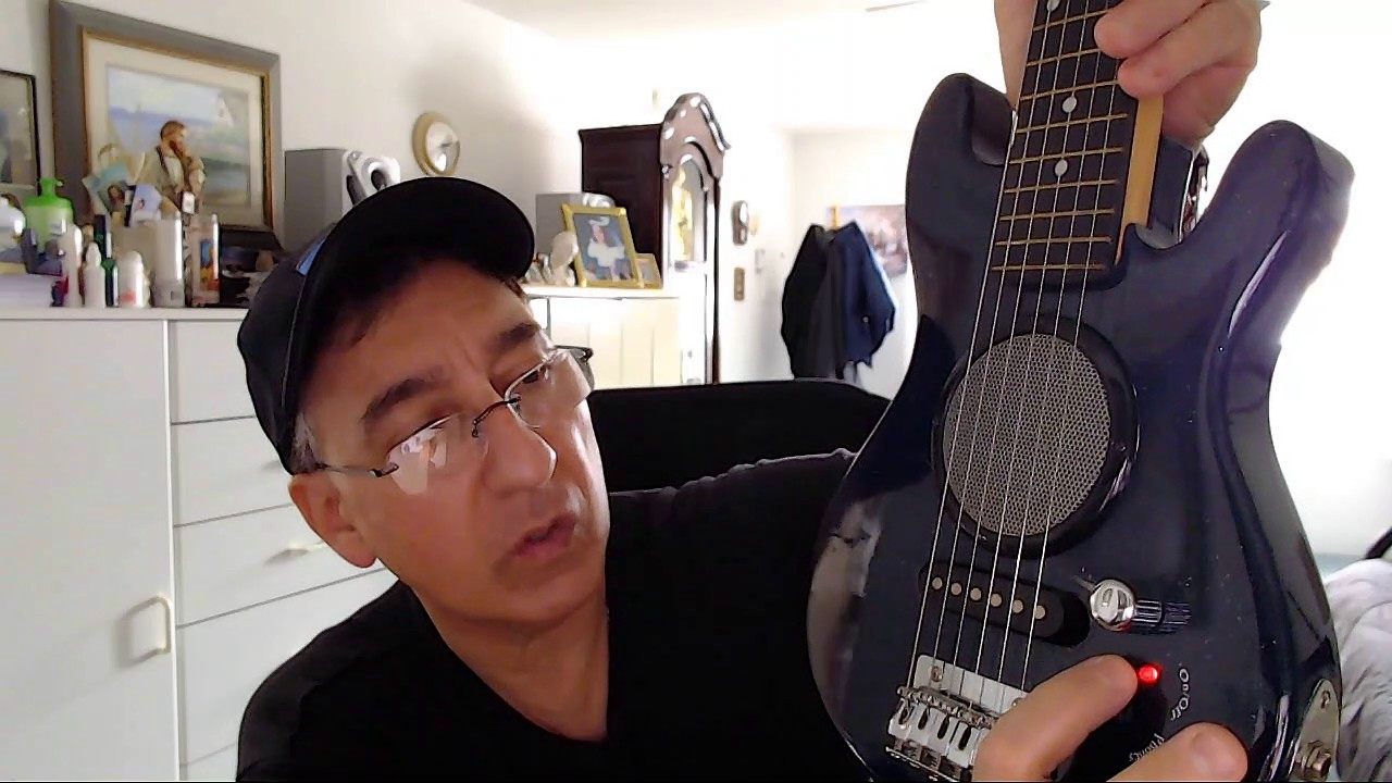 First Act Discovery Guitar With Built In Amp Demo Video