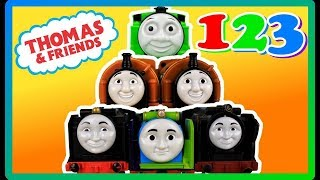 TOP 5 Learn to Count 1 to 10 with Thomas and Friends|BEST Learning Compilation Video|#YouTubeRewind