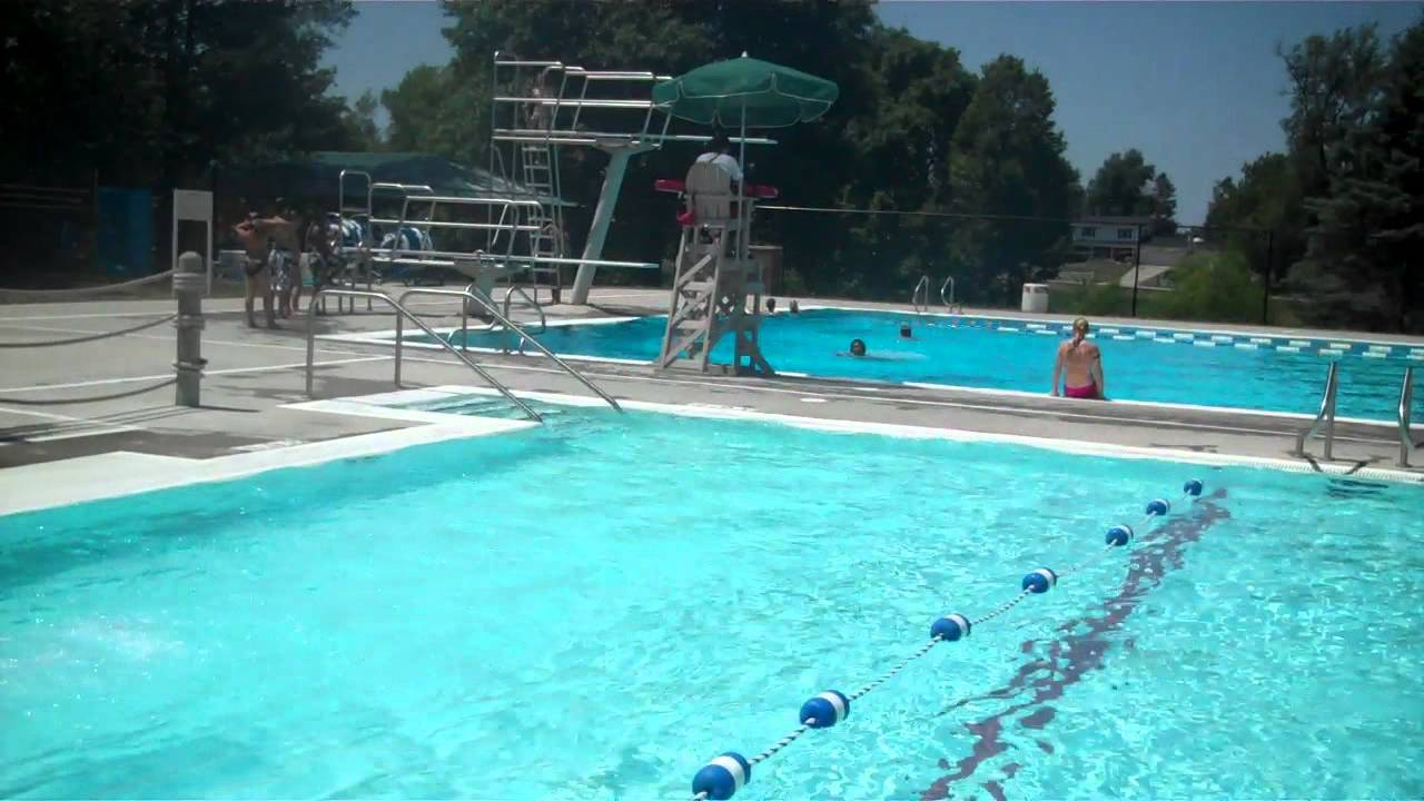 grinnell family aquatic center pool youtube
