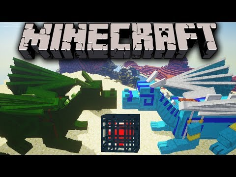 Minecraft: Zoo Keeper - Dragon Dungeon Adventure - Ep. 3 Dragon Mounts, Mo' Creatures, Shaders
