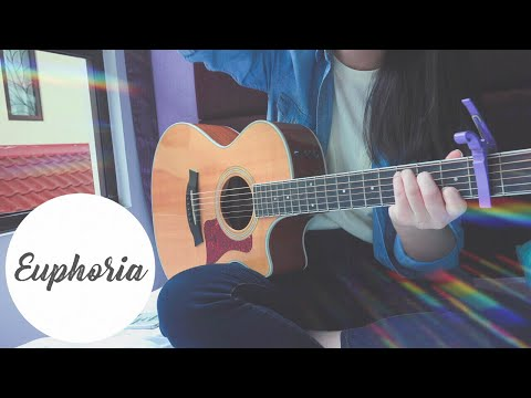 BTS(방탄 소년단)'Euphoria : Theme of LOVE YOURSELF 起 Wonder'-Guitar Cover