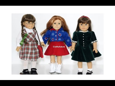 Opening Molly Outfits Haul 2015 For Our Molly McIntire American Girl Dolls ~HD~