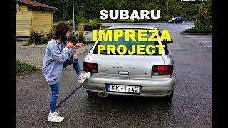 Купили бюджетную  Subaru Impreza! Готовимся к зиме! Обзор покупки.
